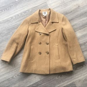 Camel Tan Anne Klein Coat